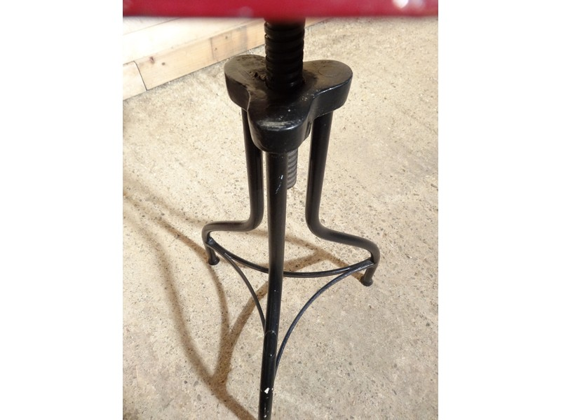 **SOLD**1930's French Industrial stool (price on request)