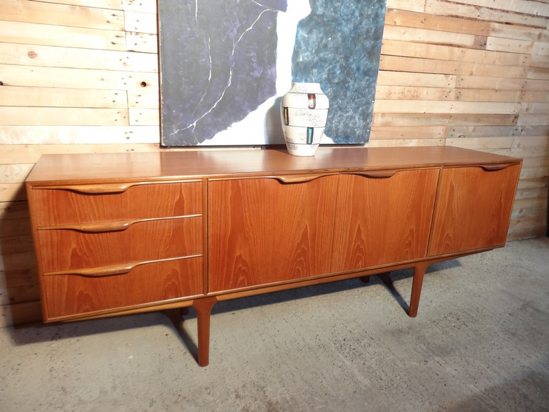 **SOLD**Organic retro teak sideboard (110)