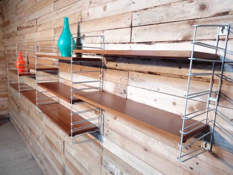 **SOLD**Large Teak Tomado Rack