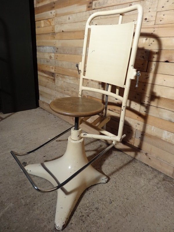 1850 French adjustable Dentist Chair