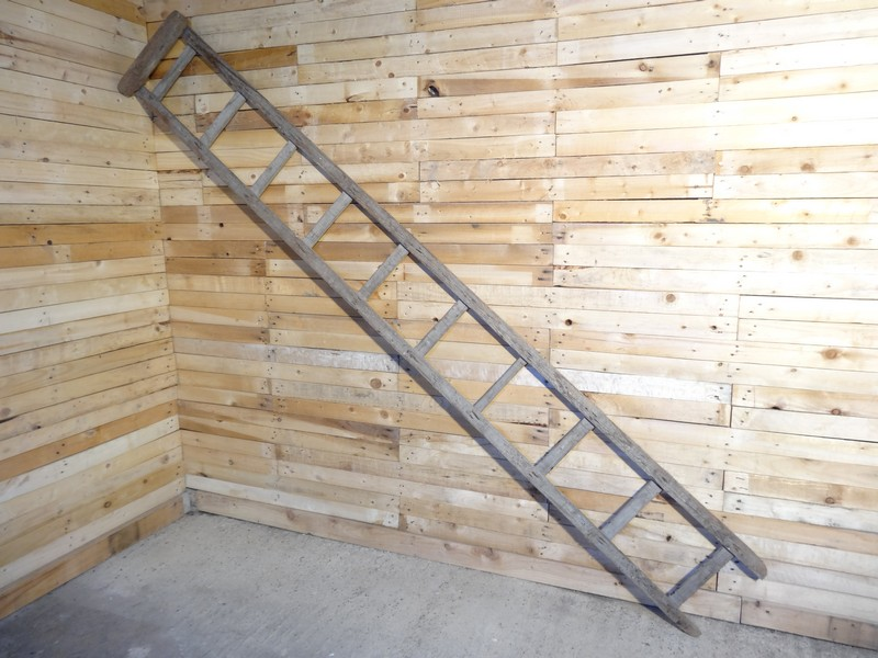 1900's French vintage Roof ladder (D)