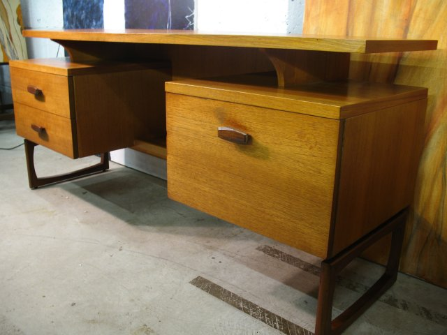 **SOLD**Koford Larsen Desk on U legs