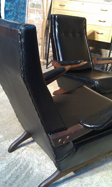 **SOLD**1950 retro chairs
