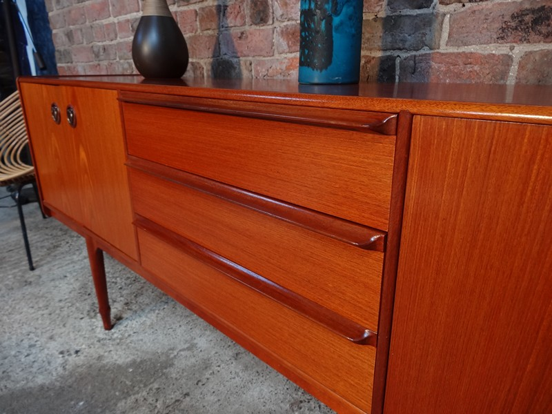 **sold**Extra Large Teak Mcintosh sideboard
