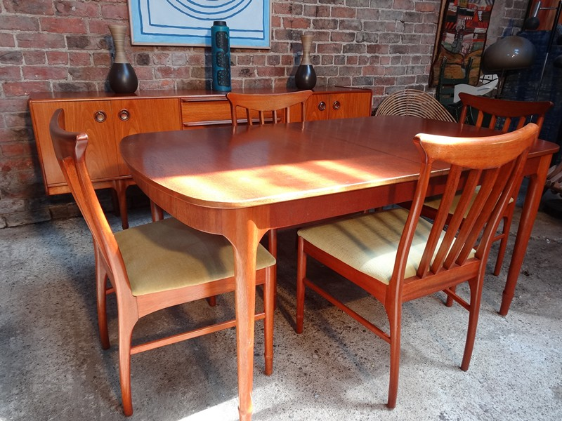 Teak Mcintosh Chairs 4x