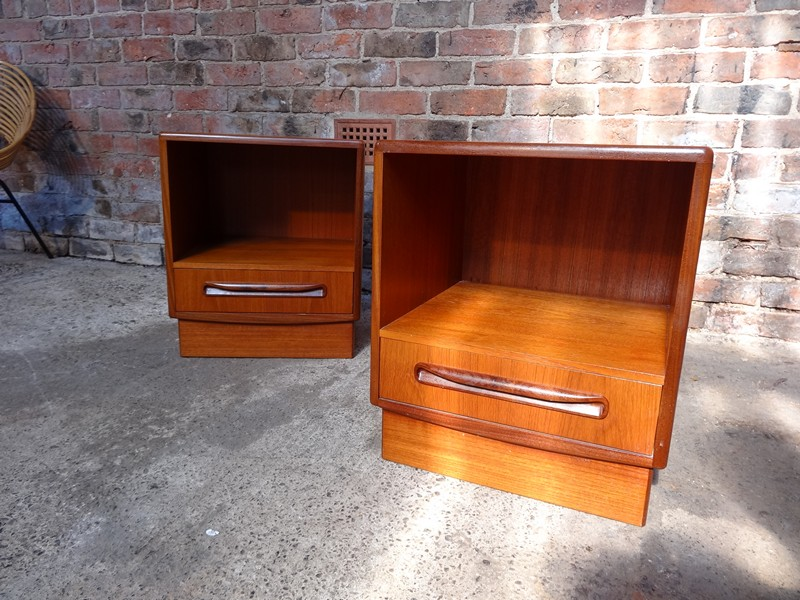 **SOLD**Koford Larsen bedside tables (2x)