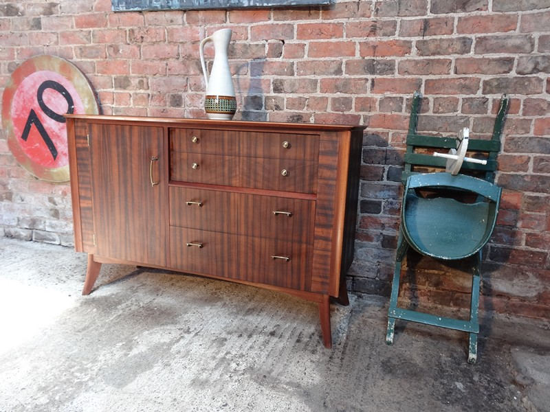 **SOLD**1950's Zebrawooden Sideboard