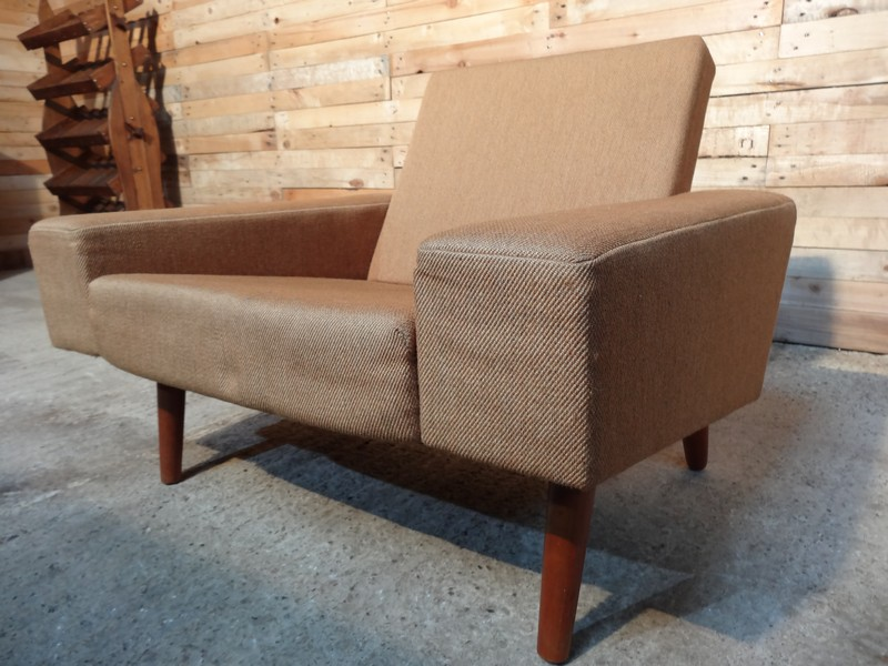 price on request - Danish 1950 fabric armchair