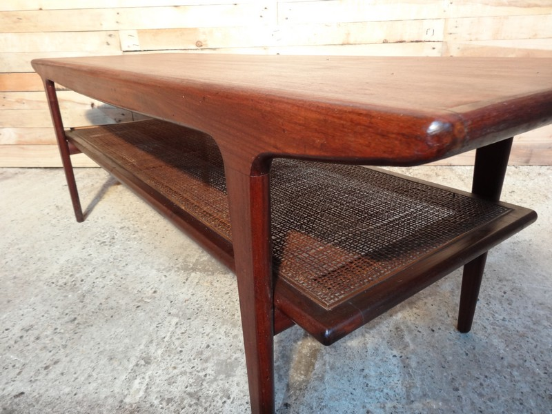 SOLD Teak coffee table