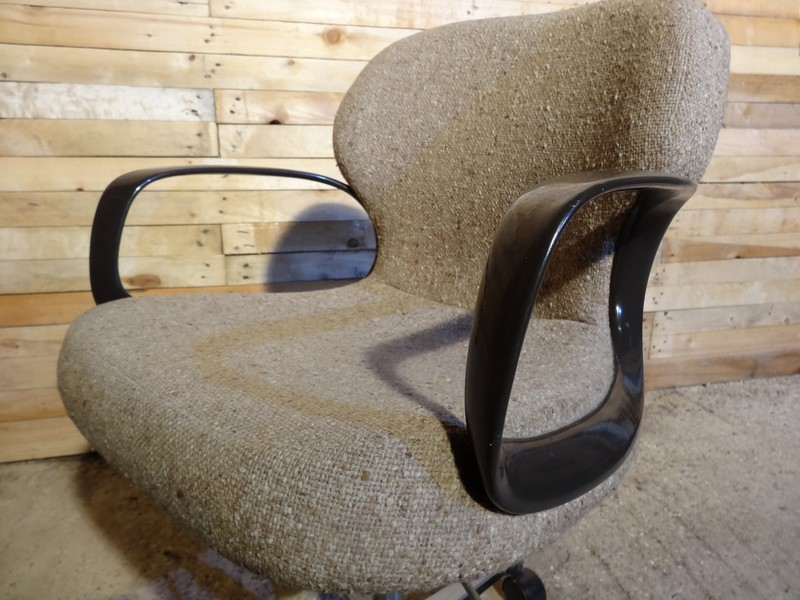 1970's Danish reclining arm chair
