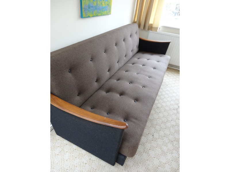 1950's Danish 3 seater sofa / daybed