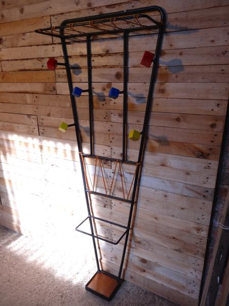 1950's French standing Umbrella / Coat Hanger