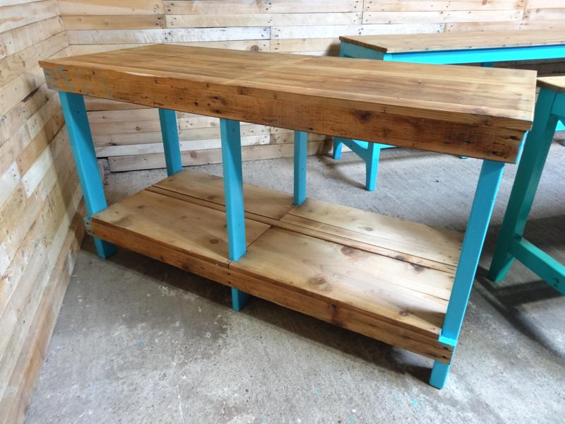 1910's Industrial sewing table / large kitchen table (price on request)