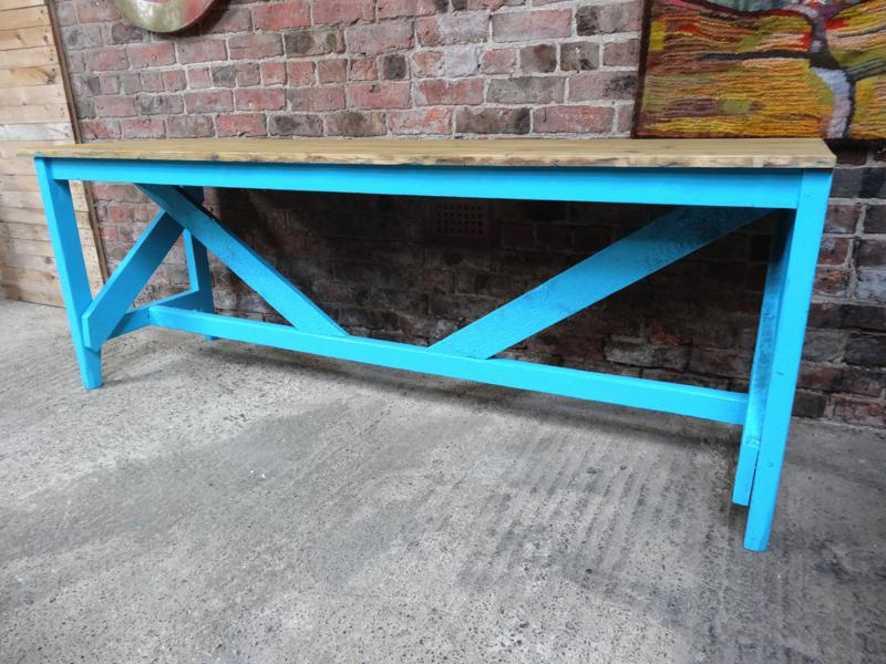 1910's Large Industrial table /  kitchen table (price on request)