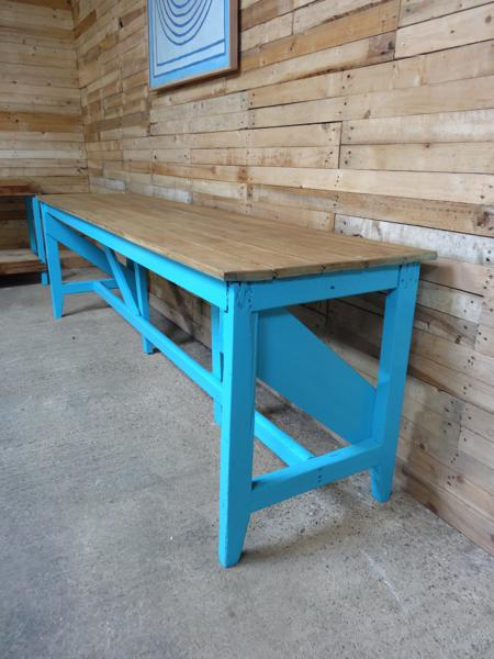 1910's XL Industrial table /  kitchen table (price on request)