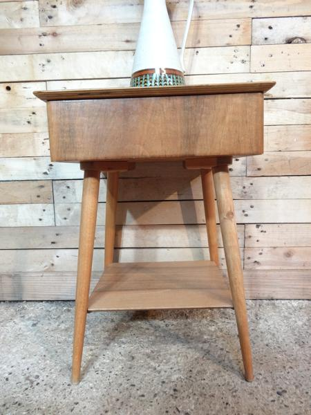 RESERVED - Organic Ercol side table