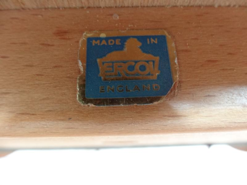 1960's Ercol dropdown ladder rack elm/beech  coffee table (price on request)