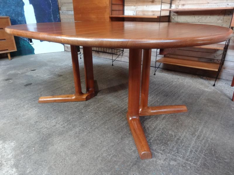 **SOLD**Danish Dyrlund extendable teak table