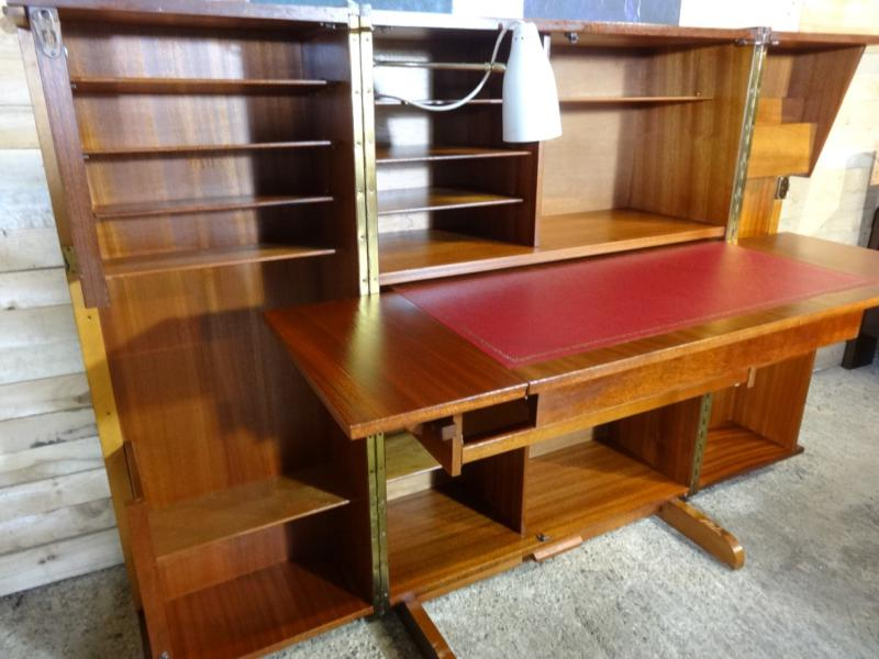 "SOLD - Mummenthaler & Meier ""magic box"" desk in a box"