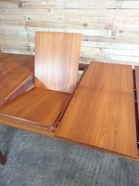 Extra Large Teak Mcintosh extendable table