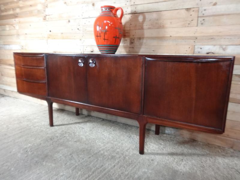 Danish designed organic dark teak Sideboard (102)