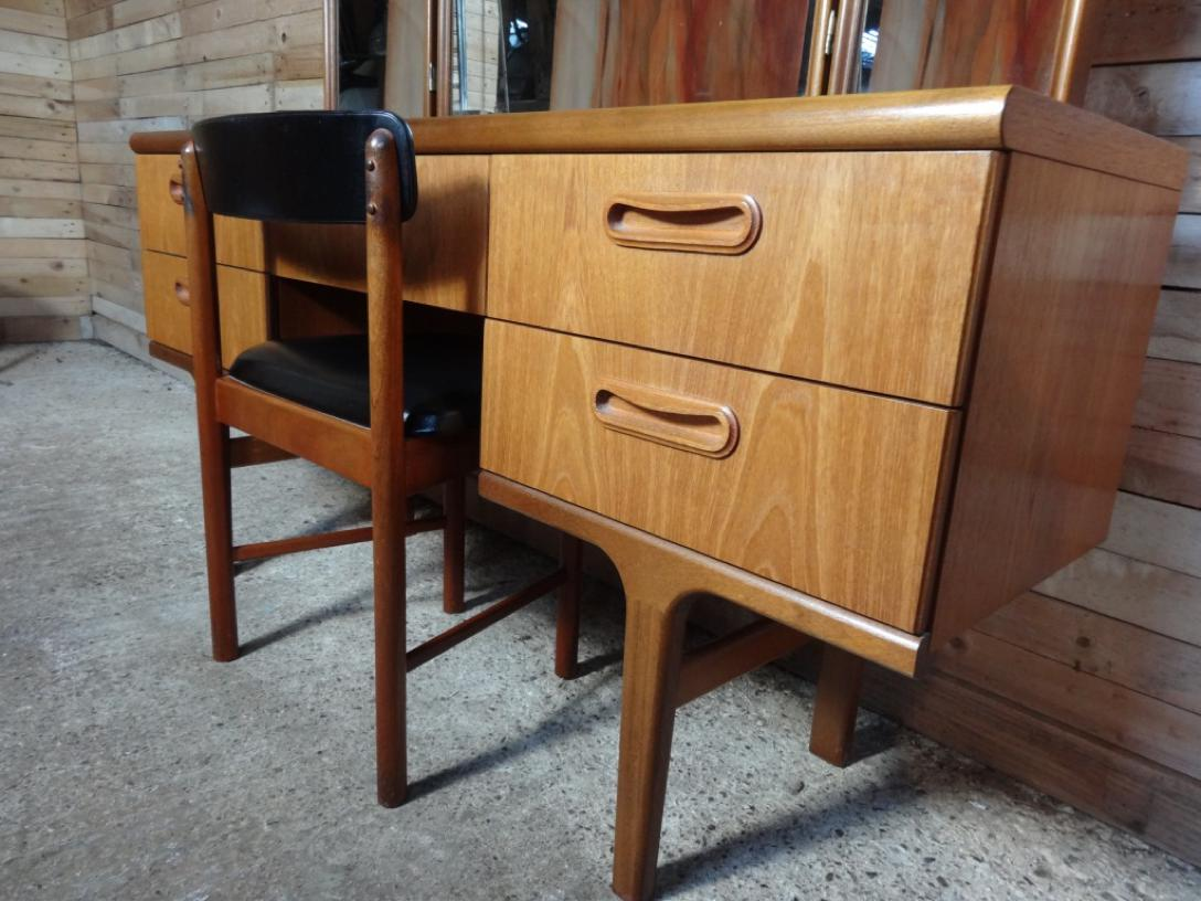 1960's teak Dressing Table mint cond