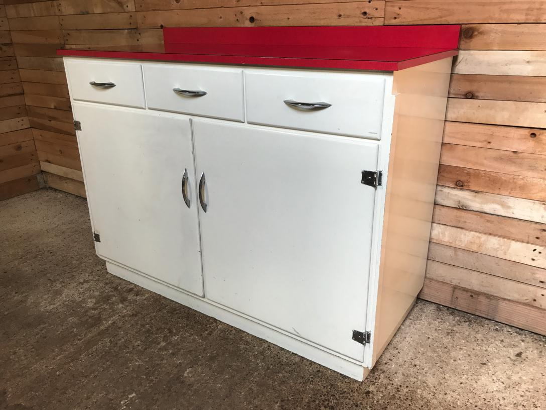 XXL 1950's kitchen cabinet in mint cond