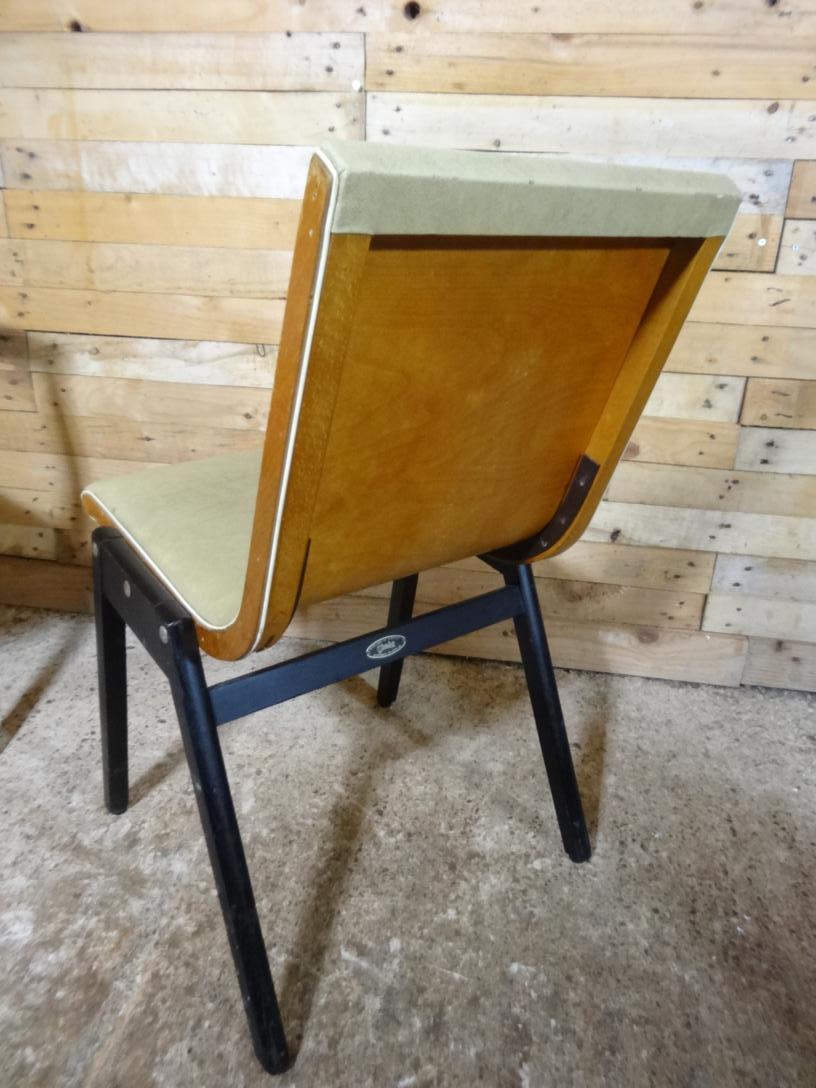Price on request - 4x early 1950's Stako dining chairs