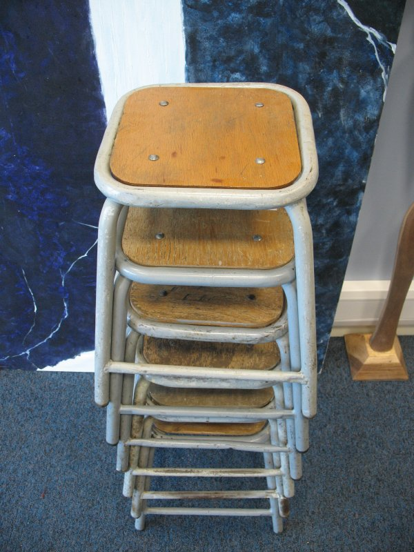**SOLD**Industrial stool