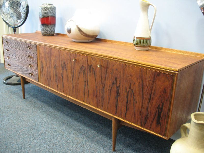 **SOLD**Fantastic long Archie Shine Rosewood Sideboard