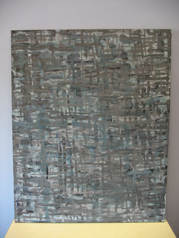 Original large Abstract painting 'no way out'