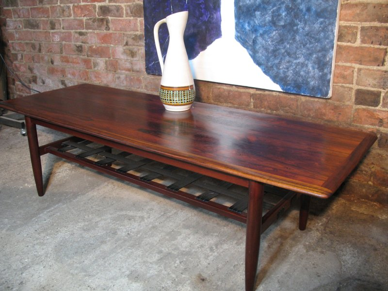 **SOLD**1960u0027s Danish Rosewood Coffee Table