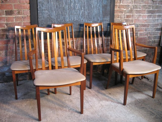 **SOLD**Koford Larsen Teak Dining chairs