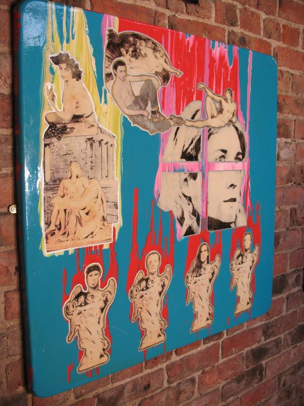Original pop / street art / painting (A)