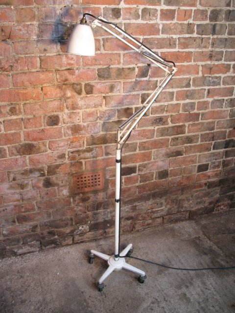 **SOLD**1960u0027s Floor Standing Angle Poise Dentist Lamp By Herbert Terry