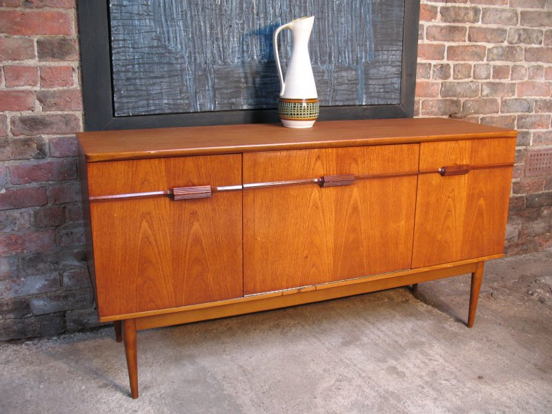 **SOLD**Fantastic medium Danish teak Sideboard