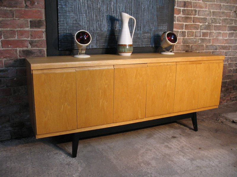 **SOLD**Scandinavian oak Sideboard