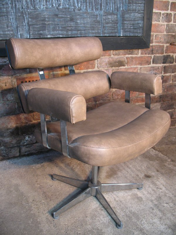**SOLD**Italian 'Bugatti' Arm Chair
