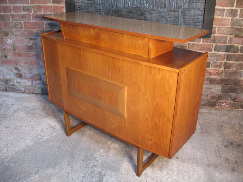 **SOLD**Danish Teak Bar *let the party begin......*