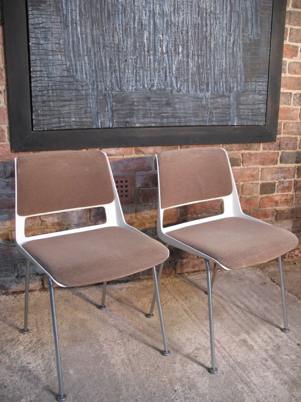 **SOLD**Pair of Dutch Gispen' W9' Chairs