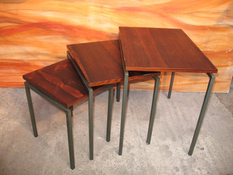 **SOLD**Danish rosewood nest of tables (3)