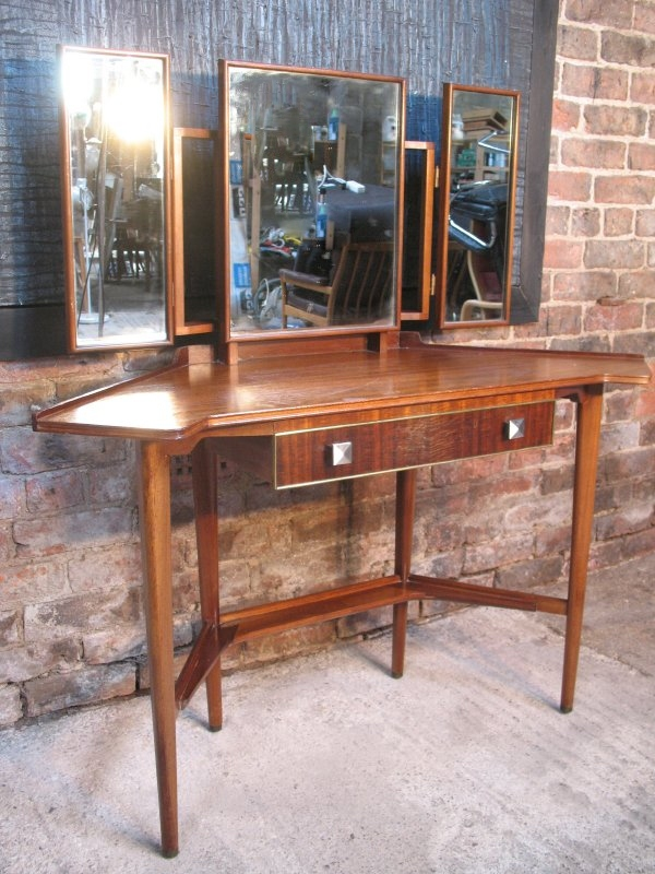 **SOLD**Danish dressing table or desk without the mirrors