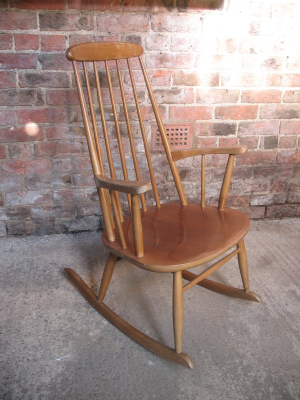 Danish minimalistic rocking chair