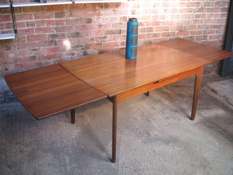 ** SOLD**Danish Hansen extendable teak table