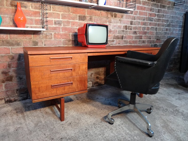 **SOLD**Danish teak Desk C