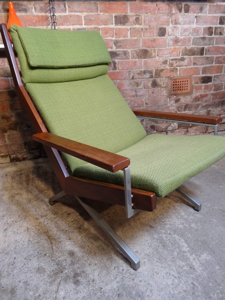 **SOLD**Dutch Robert Parry teak and chrome arm chair