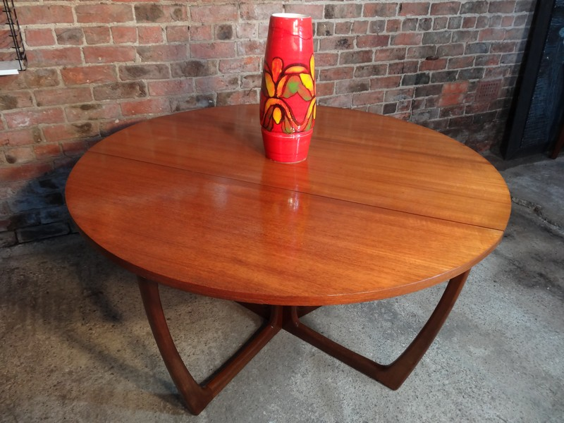 **SOLD**Large English Beitcraft round teak table