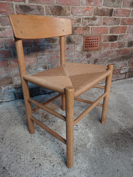 **SOLD**Danish Wegner light oak Chair