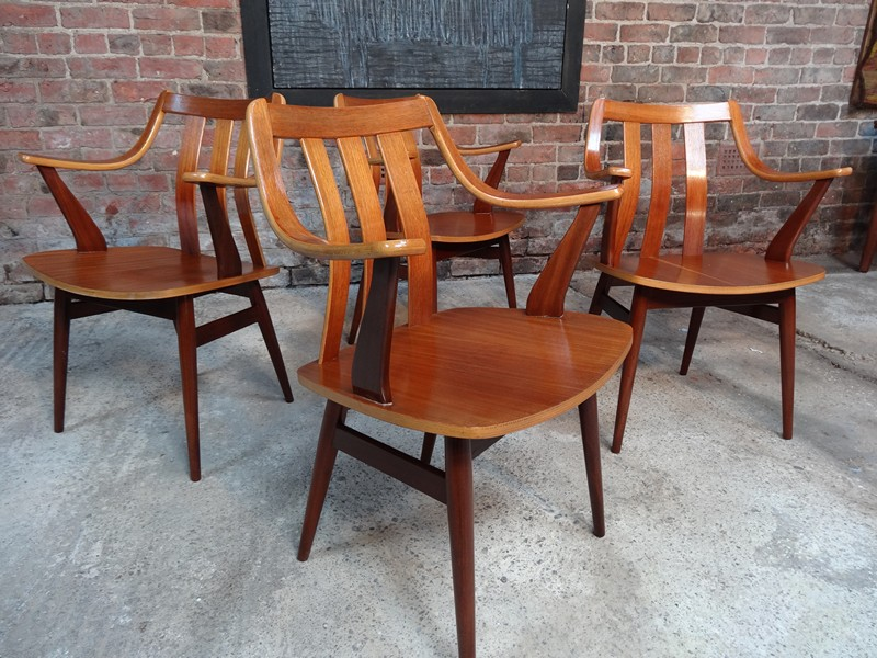 4 teak bendwood Chairs (price on request)