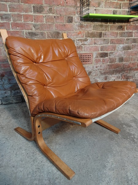 Delicieux **SOLD** 1970u0027s Danish Ingmar Relling Brown Leather Chair (R4)